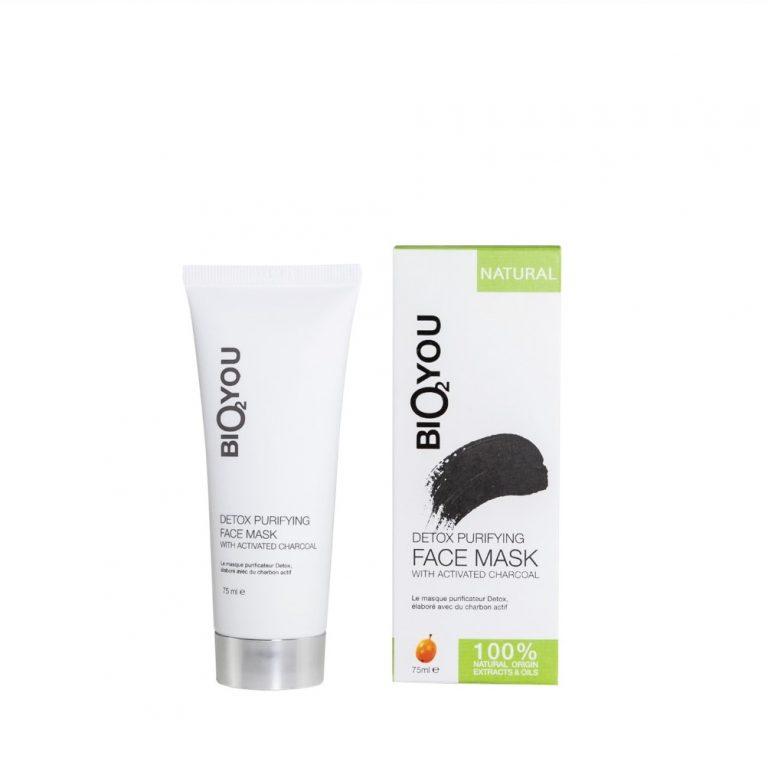 Bio2You ontgiftend en zuiverend gezichtsmasker met actieve kool